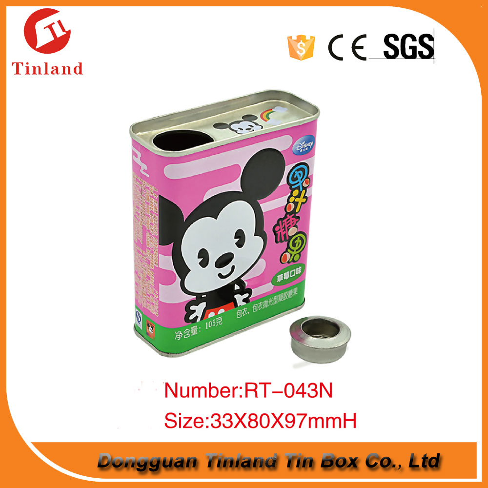 China Pop-Top Tin Can for Canned Food