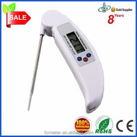 household use cooking thermometer lcd pocket digital probe food bbq thermometer
