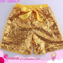 Sequin Shorts For Children Fashion Kids Baby Girls Modern Sequins Shorts Summer Flare Party Short Pants Cotton Clothing