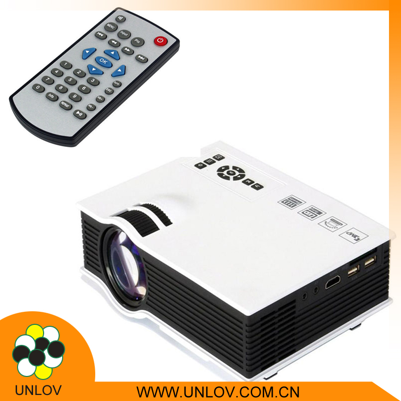 Lowest price UC40 hd 1080p android IOS mobile phone mini led projector
