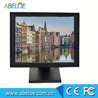 "12V DC Powered 19"" inch USB Touch Screen LCD Monitor"
