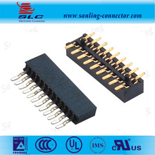Pitch 2.54mm Delphi PA66 5Pin SMT Female connector