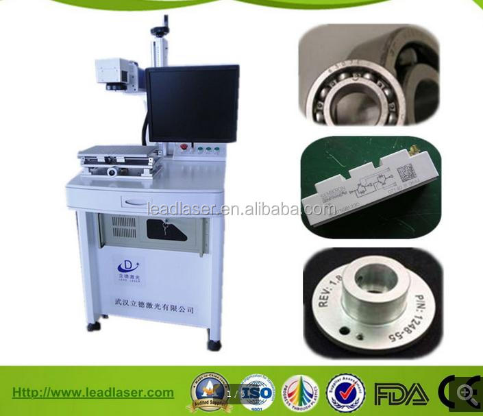 Synthesized Technical 20W Metal Tools Fiber Laser Micro-percussion Marking Machine