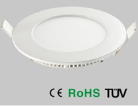 small round square solar panel led light