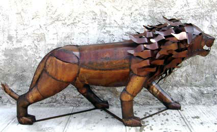 Metal Art animals Mexican Porducts endevol.com