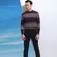 80% cashmere blended man's crewneck sweater