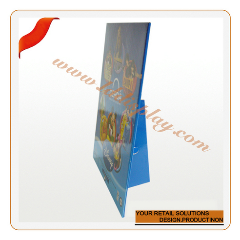 Hot sale folding lcd advertising display computer