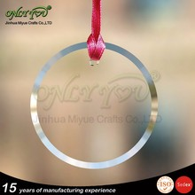 blank crystal glass ornament from China supplier