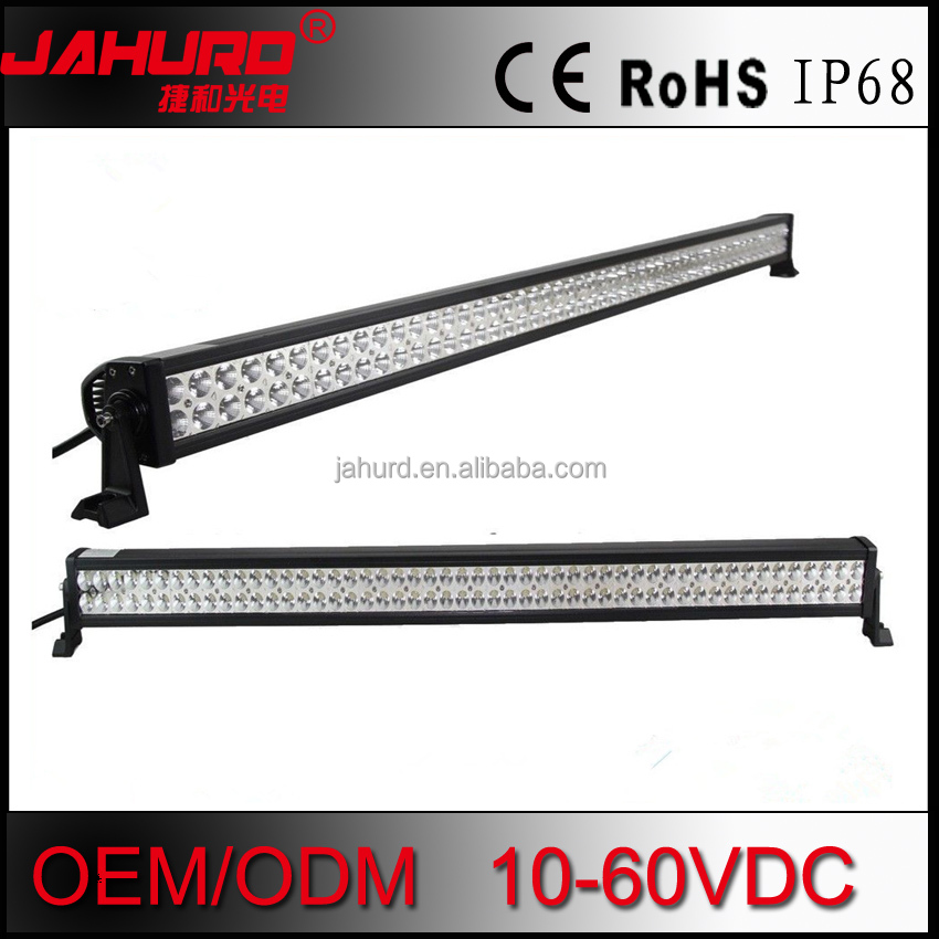 car led light bar 52inch 300w led fog light for snowmobile for 4x4 4wd Truck Offroad ATV SUV 4xp