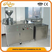Professional electric gas industrial soy milk production bean curd making machine soybean milk processing machine