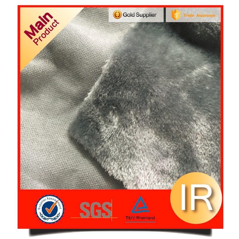 polyester faux fur soft boa fabric