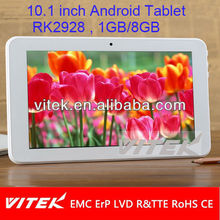 Top quality 10.1'' Cheap wifi corona tablet