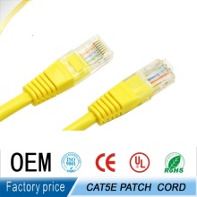 factory price utp rj45 patch cable /patch cord 1m cat5e support ethernet