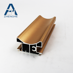 Yingkou factory customized copper extrusion 6063 aluminum profiles