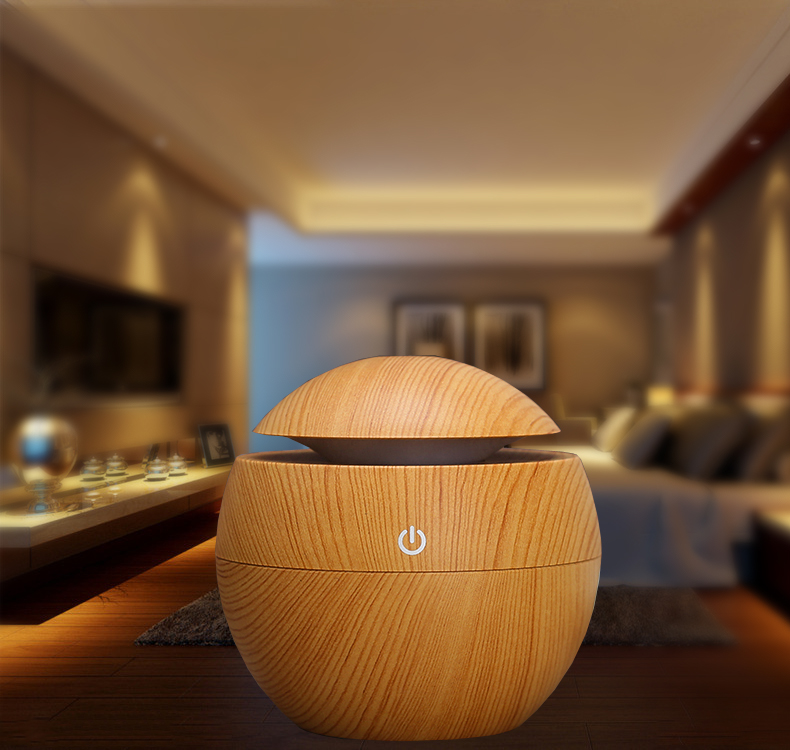 Mini ultrasonic aroma diffuser battery powered humidifiers
