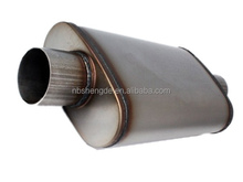 car exhaust oval silencer