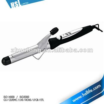 Electronic rotating curling iron