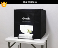 DEEP LED Professional Portable Softbox Box 60*60cm LED Photo Studio Video Lighting Tent with LED Light
