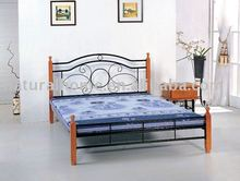 Double wooden Bed ( KT1536-BD)