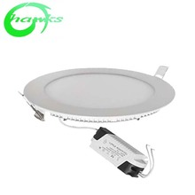 3w 5w 7w 9w 12w Recessed <strong>Flat</strong> Round Led Panel Light, High Quality <strong>Flat</strong> Round Led white 6000k Panel Light