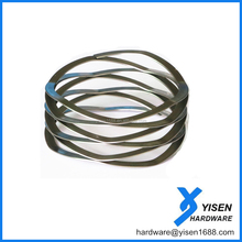 RoHS Customized flat wire Wave Compression Springs