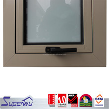 Aluminum Alloy Frame Top Hung Casement Opening outwards Window