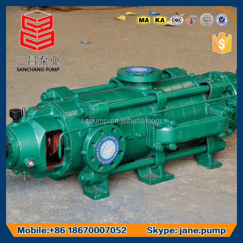 Horizontal multistage centrifugal electric motor garden decor cast iron water well pump