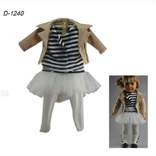cheap american apparel clothes/doll clothes in toy accessories/jacket clothes for small dolls