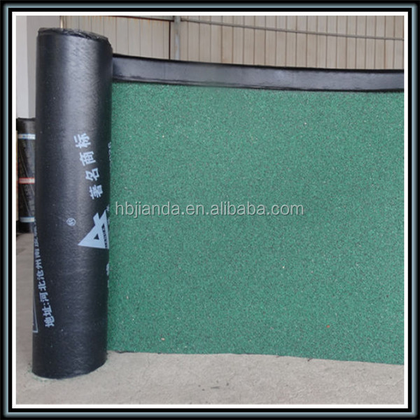 SBS elastomeric polyester reinforced 3mm 4mm waterproof membrane