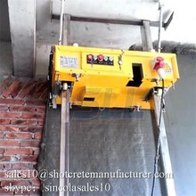 Performance well comparing to labor work plastering machine for wall
