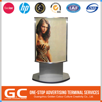 New Coming Fast Production Customized Logo Printed Wall Mounted Hanging Poster Display Rack