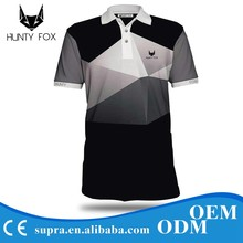 China Sports Wear 100% Cotton Golf Polo Shirt