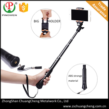 New products 2016 mobile phone holder innovative monopod bluetooth wireless selfie stick for android and IOS phone