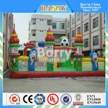 Inflatable bouncy Pirate Ship Bounce Slide Combos Playground, inflatable kids bouncy game