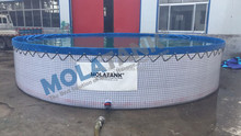 Hot sale mobile Wire mesh tank fish farming tank fish pond