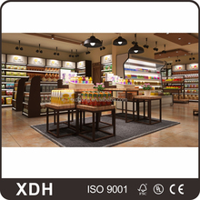 Beauty store display showcase cheap shop furniture shelves design