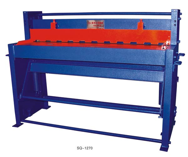 <strong>Q11</strong>-1*1500 <strong>mechanical</strong> pedal <strong>shearing</strong> <strong>machine</strong> manufacturer in China