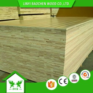 Double Sides Melamine Laminated Plywood ,Full Eucalyptus Core Melamine Plywood For Furniture