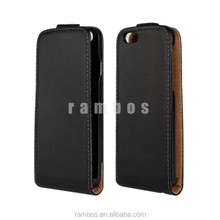 Korea Style Protective PU Leather Up & Down Top Open Vertical Flip Case Cover for Blackberry 9790 9780