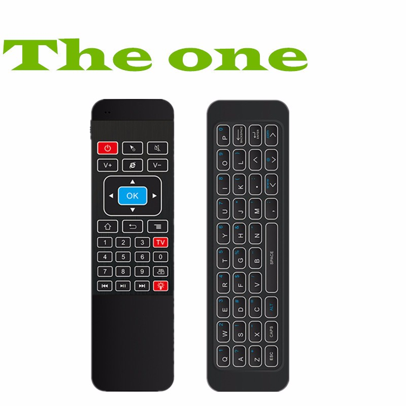 Backlight 2.4G Fly Air Mouse i85 Wireless Mini Gaming Keyboard Remote Control Gamepad for Android TV Box A95X X92 PS3 Xbox 360