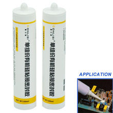Chinese supplier supply Cheap RTV fireproof silicone sealant sealant silicone for electronic components