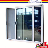 China made high quality customized UPVC or Aluminum door design aluminum profiles frame