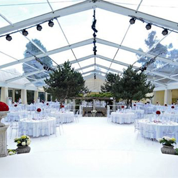 High Quality Luxury Outdoor Transparent Tents Clear Roof Marquee Party Wedding Tent For 500 People & Wedding Tent Wedding Tent direct from Guangzhou Hengnuo Tent ...