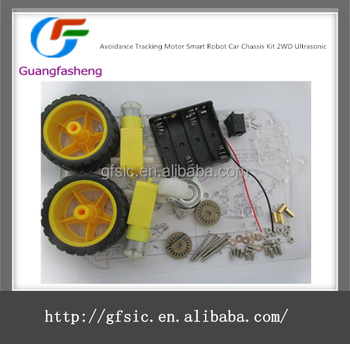 Avoidance Tracking Motor Smart Robot Car Chassis Kit 2wd