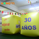 Giant Yellow Inflatable Advertising Helium Cubes Customizable in Various Sizes