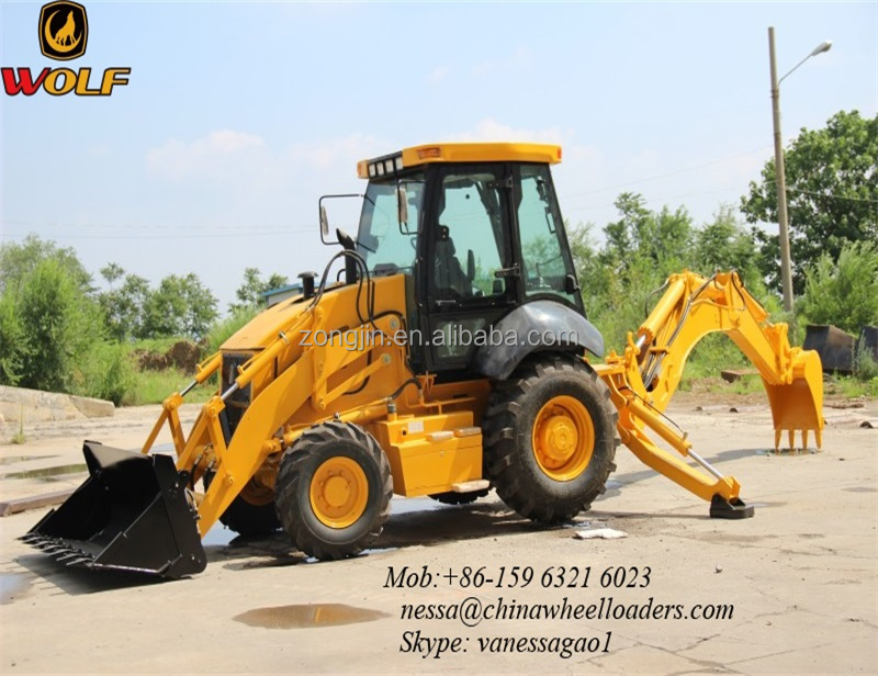 WOLF construction equipment JX45 loader backhoe