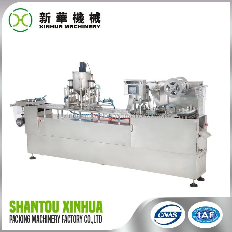 Top Quality Blister Strip Packing Machine For Pharmaceutical with good price