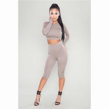 Hot sale summer gym wear blank tracksuit wholesale sexy sweat suits cheap custom tracksuit