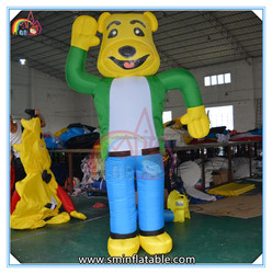 Hot selling giant inflatable bear model,inflatable cartoon bear,inflatable cartoon for advertising