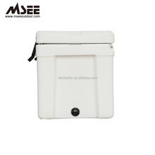 Customized Rotomolded Pe Plastic Ice Cooler Box With Wheels